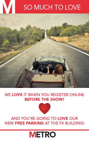 Metro Online Registration - Web Ad