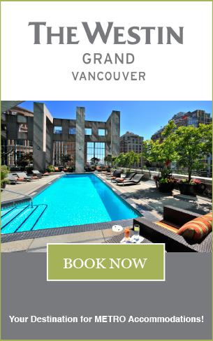 The Westin Grand Vancouver - Metro Web Ad
