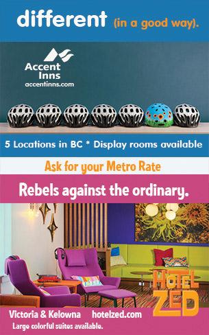 Accent Inns - Metro Web Ad