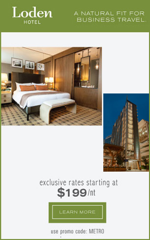 The Loden Hotel - Metro Web Ad