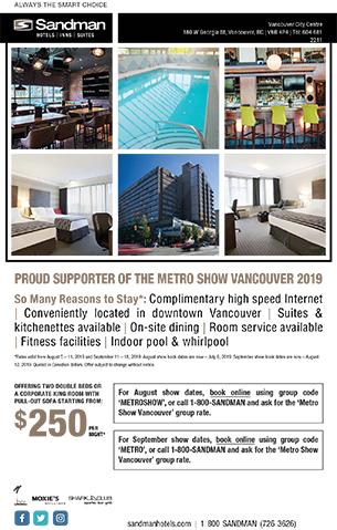 METRO Vancouver | The Fashion Apparel Tradeshow